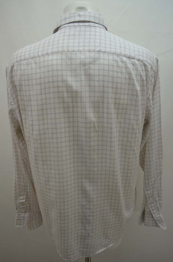 hugo boss chemise de costume homme veste col 42 l blanche ebay. Black Bedroom Furniture Sets. Home Design Ideas